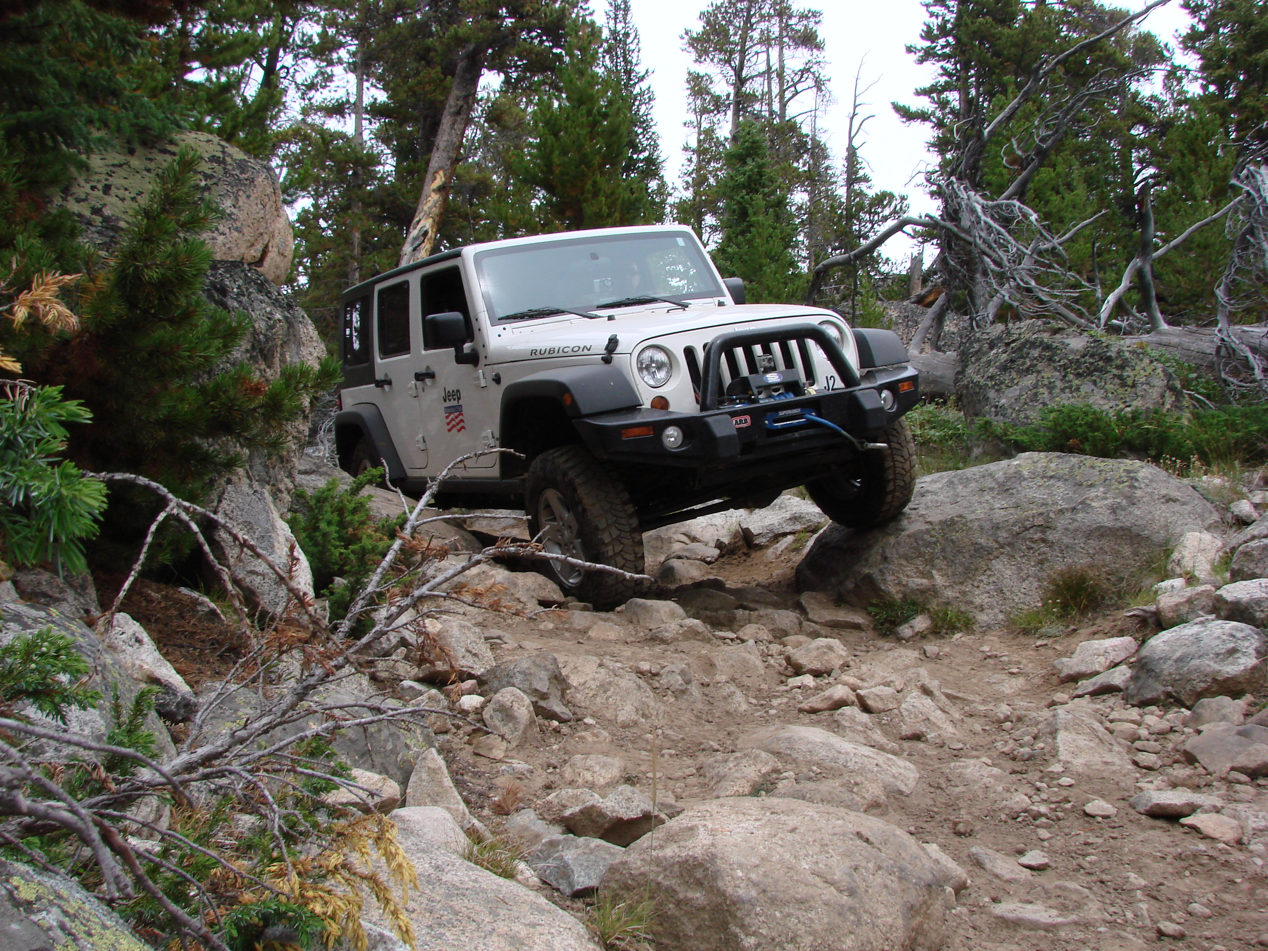 Bighorn mountains Jeep Jamboree event