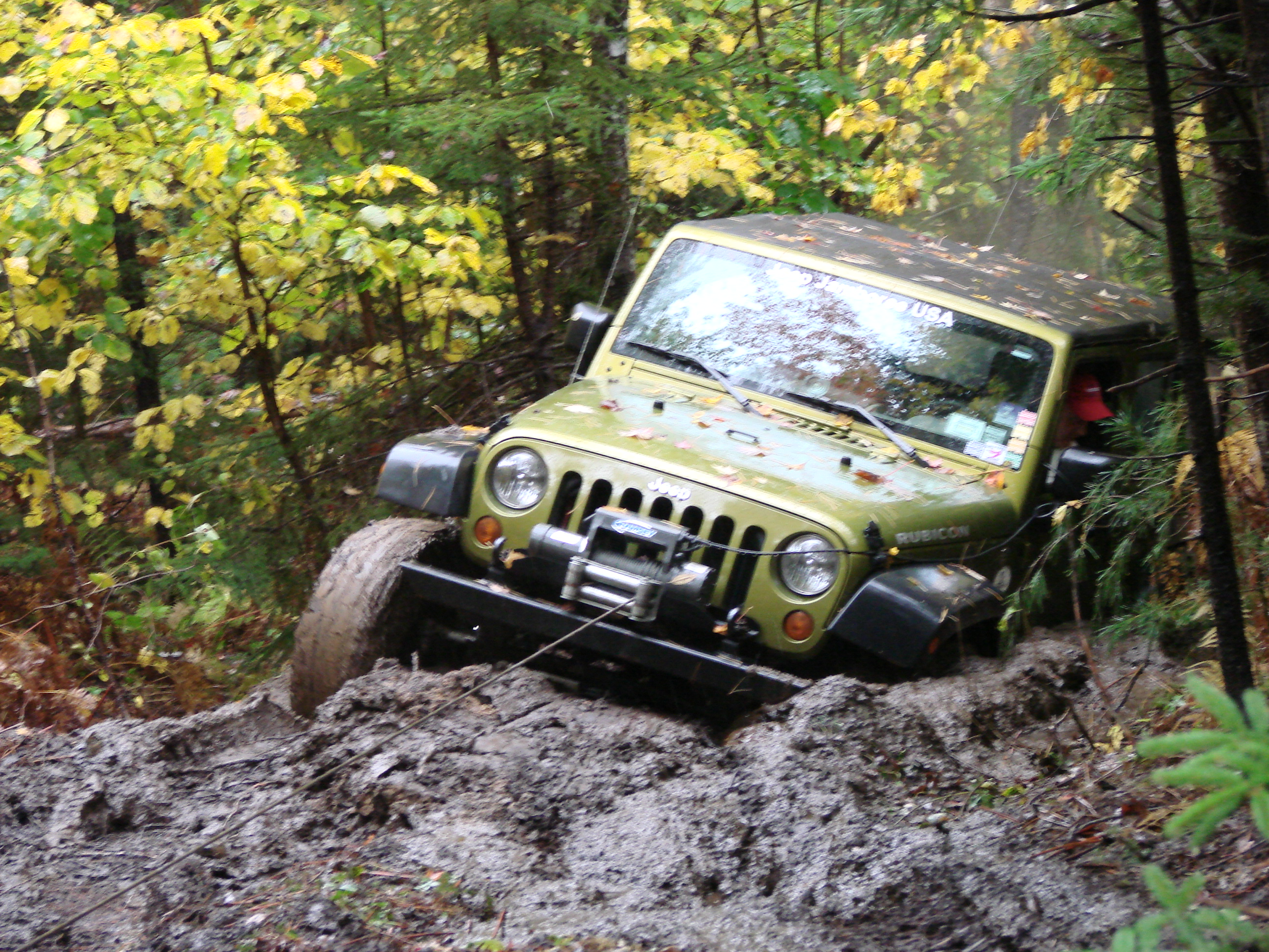 maine moutains jeep jamboree event