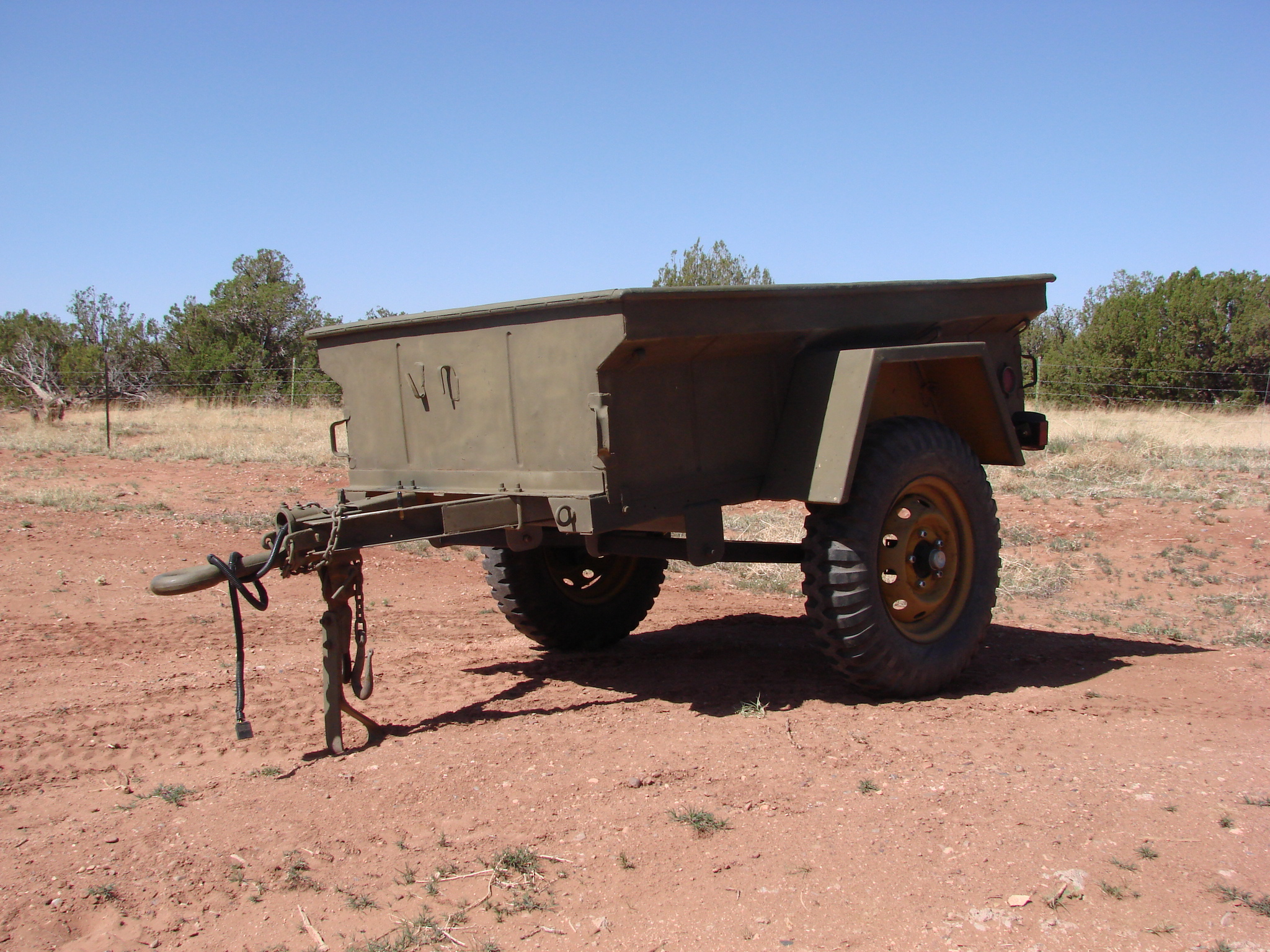 M416 Trailer Conversion