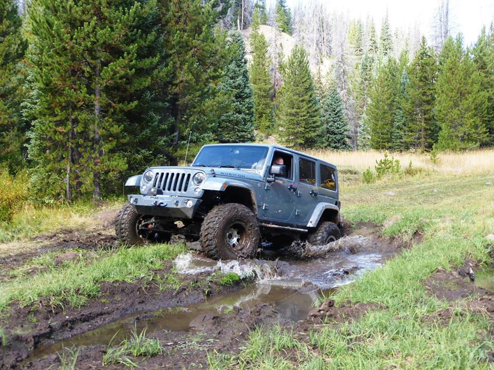 Wheeling the Ellis Jeep Trail